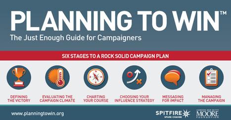 Planning to Win: interactieve gids voor het plannen van campagnes | VAN ONDERUIT | Scoop.it