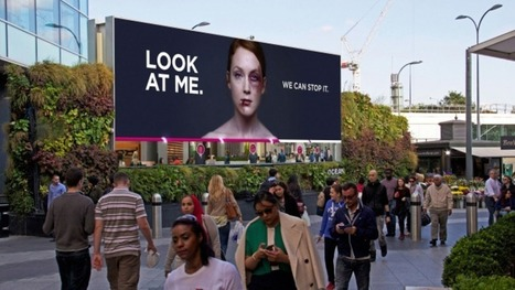 Bruised woman on this billboard heals as people pay attention to her | Inspiration: Imagine. See the possibilities. | Scoop.it