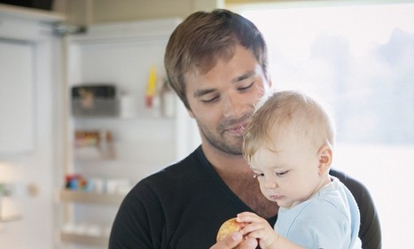 Modern fathers spend over 3 hours a day looking after their children | Kickin' Kickers | Scoop.it