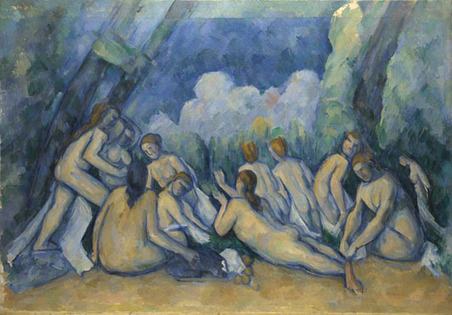 Paul Cézanne | Bathers (Les Grandes Baigneuses) | NG6359 | The National Gallery, London | Form 5 Art Syllabus | Scoop.it