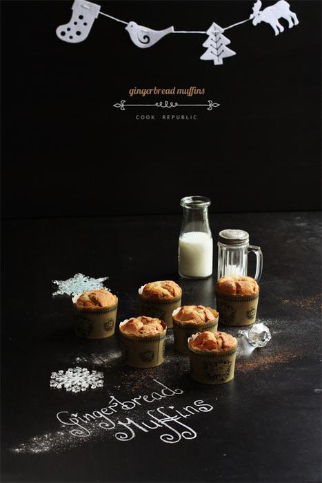 Gingerbread Muffins | Cook Republic | Veggie & vegan desserts | Scoop.it
