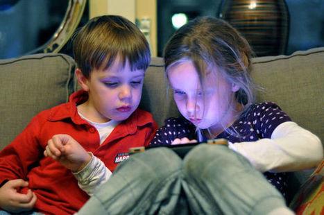 Sharing iPads Helps Kindergartners Learn | Kinderen en internet | Scoop.it