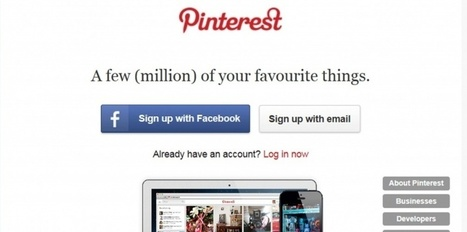 La pub arrive sur Pinterest | Pinterest et  CDI | Scoop.it