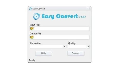 Easy Convert, conversor de audio y vídeo desde el menú contextual | Recull diari | Scoop.it