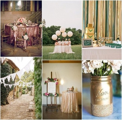 Green Loving Girl deciding on the feel of a wedding | French Wedding Inspiration | Scoop.it