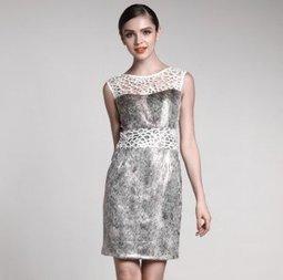 Elegant Flash Lace Decoration Dress [A081] - $80.60 : | The Latest Fashion Dresses | Scoop.it