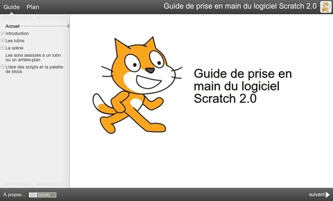 Guide de prise en main du logiciel Scratch 2.0 | Organización y Futuro | Scoop.it