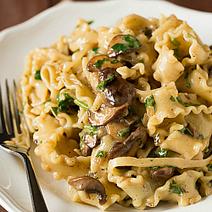 Creamy Mushroom-Fontina Pasta | Brown Eyed Baker | Cocina y alimentos | Scoop.it