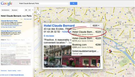 Google Hotel Finder available  to independent hotels | Innovation Hospitalité & tourisme | Scoop.it