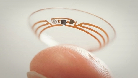 Look see Google's healthcare device patents, what kind of smart contact lens technology it has | PatentShot | Robot Stories | Scoop.it