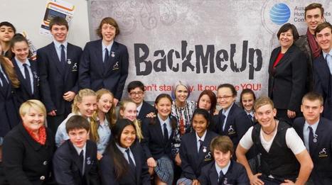 BackMeUp winners announced! | Australian Human Rights Commission | Esmart | Scoop.it