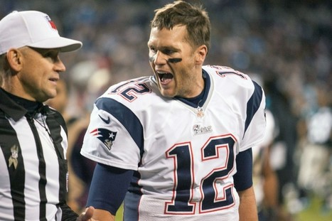 Tom Brady confronts officials after controversial final play - Front Page Buzz | ESPNTMZ | Scoop.it