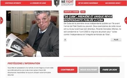 Wefightcensorship.org, le nouveau site anti-censure de RSF | Libertés Numériques | Scoop.it