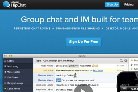10 Chat Tools for Better Communication in Team Projects | Techy Stuff | Scoop.it