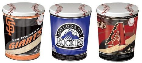 MLB Cactus League Popcorn Tins Have Arrived! - My Pop Corn Kitchen   Celebrations!   Scoop.it