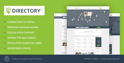 Bootstrap WordPress Directory Themes And Templates | Bootstrap Themes | Scoop.it