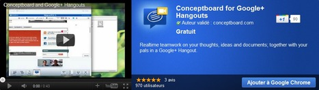 Conceptboard for Google+ Hangouts | Time to Learn | Scoop.it
