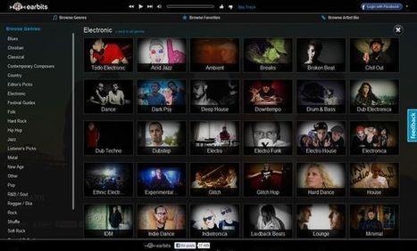 #Earbits descubre música de grupos nuevos e independientes con este bonito reproductor online vía @softapps | Musica | Scoop.it
