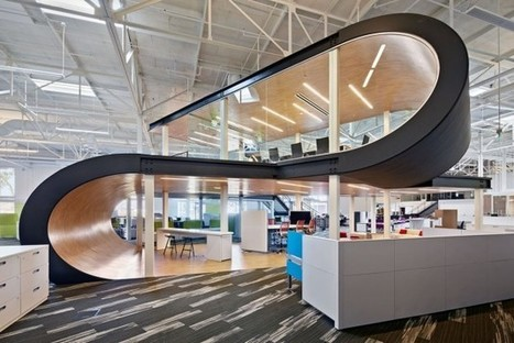 One Workplace Headquarters by Design Blitz  #design | Workplace Design and Employee Engagement | Scoop.it