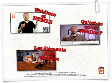 Démo WebDocs et HTML5 | Photographie, reportages et WebDocumentaires | Scoop.it