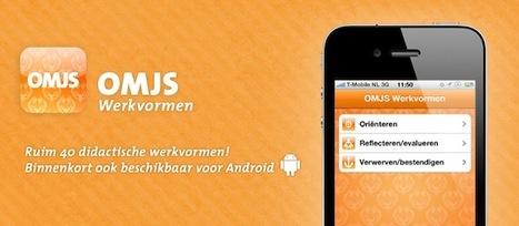 OMJS Werkvormen app voor iPhone — Onderwijs Maak Je Samen | TPACK in het onderwijs | Scoop.it
