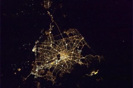 Twitter / Cmdr_Hadfield: Christchurch, NZ, taken just ... | Interwebby goodness | Scoop.it