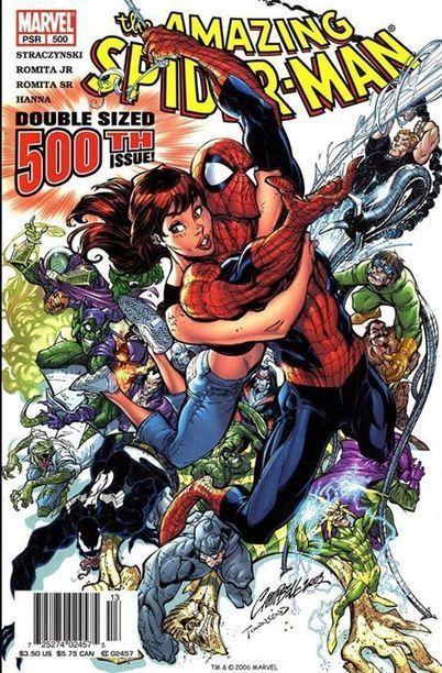 Amazing Spider-Man #500 - cover art by Jeff Scott Campbell | GeekedMedia | Scoop.it