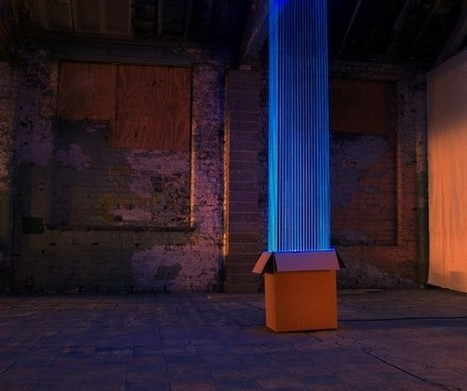 David Ogle's Ultraviolet Thread Installations - Beautiful/Decay Artist & Design | Experience design samples | Scoop.it