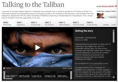 globeandmail.com : Talking to the Taliban | Interactive & Immersive Journalism | Scoop.it