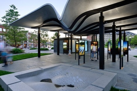 Utile Makes a Splash With Digitally Fabricated Pavilion in Boston | green streets | Scoop.it