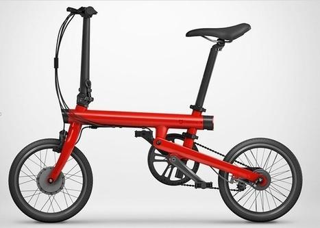 Mi QiCYCLE : Xiaomi lance un vélo connecté électrique | Ô bô velô ! | Scoop.it