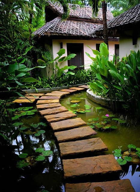 35 Lovely Pathways for a Well-Organized Home and Garden | Design | News, E-learning, Architecture of the future at news.arcilook.com | Architecture e-learning | Scoop.it