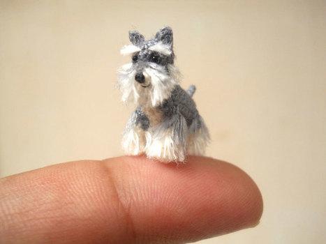 The Cutest Miniature Crochet Animals Ever! | artFido's Blog | Teacher-Librarianship | Scoop.it