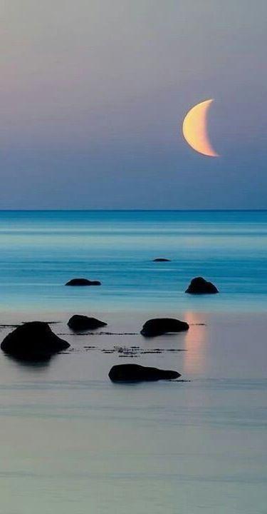 Moon & Beach...... | LOVELY | Scoop.it