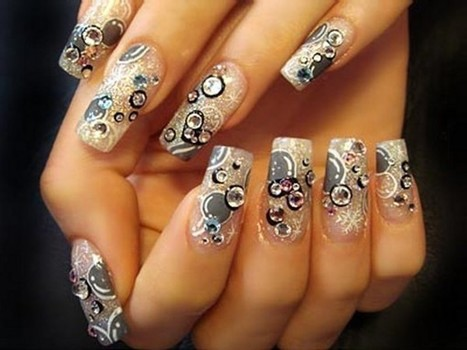Easy Acrylic Nail Design Ideas 2013 | Nail Designs | Scoop.it