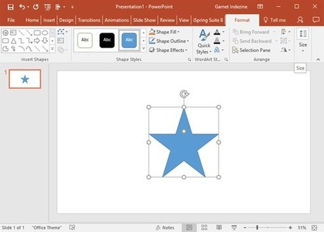 Change One Shape to Another in PowerPoint 2016 | PowerPoint Tutorials | Scoop.it