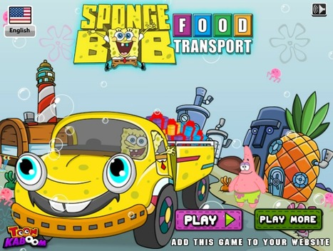 Spongebob Food Transport | Best Cartoon Games | Scoop.it