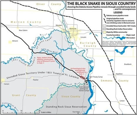 The Dakota Access Pipeline Map | Geography Education | Scoop.it
