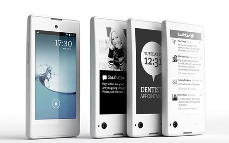 Yotaphone, le smartphone double-face, disponible en fin d'année - Android MT   L'édition en numérique   Scoop.it