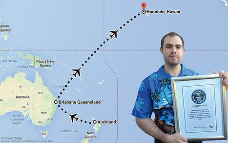 Man sets record for longest birthday by flying between time zones | Quite Interesting News | Scoop.it