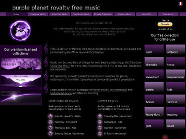 Purple Planet Royalty Free Music | Media for Presentations | Scoop.it