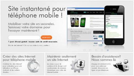 bMobilized, une autre solution pour adapter son site web au format mobile | Ze Web | Scoop.it