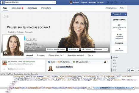 Comment Forcer un Tag dans une Publication Facebook? | Emarketinglicious | community management | Scoop.it
