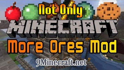 Not Only More Ores Mod 1.6.2 | Minecraft 1.6.2 Mods | Scoop.it