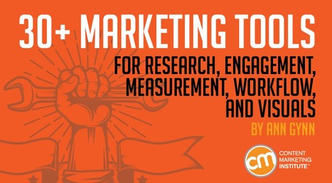 30+ Tools for Better Content Marketing   brand   Scoop.it