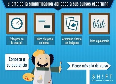 El arte de la simplificación aplicado a sus cursos eLearning | Educacion, ecologia y TIC | Scoop.it