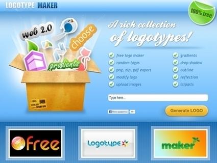 Free Logotype Maker : pour créer un logo gratuit   ICT Resources for Teachers   Scoop.it