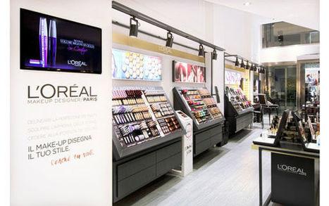 Une façade transparente - La boutique L'Oréal Paris de Milan en images [Diaporama] | connected objects | Scoop.it