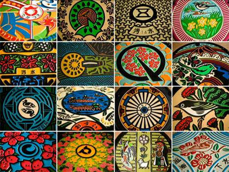 61 Amazing Manhole Covers from Japan | Synaptic Stimuli | Scoop.it