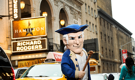 The Ultimate Selfie: Alex Goes to Broadway's Hamilton   Mascots   Scoop.it